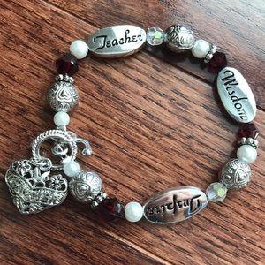 Teacher bracelet
